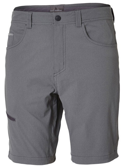 Royal Robbins Alpine Road Shorts Men Pewter